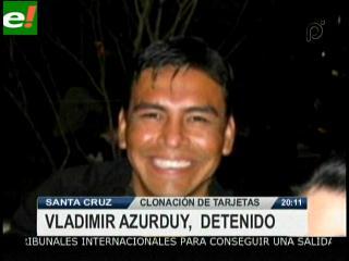 Vladimir Azurduy fue detenido