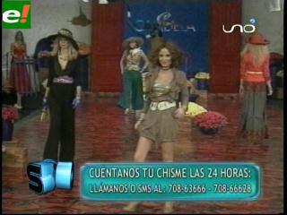 Susy Diab entre las más requeridas del Bolivia Moda 2011