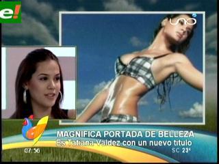 Tatiana Valdés chica Cyzone