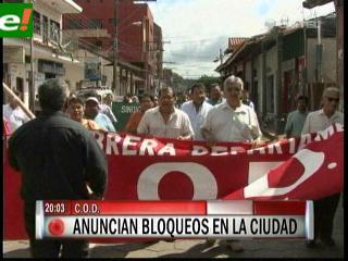 COB radicaliza protestas y define bloquear carreteras