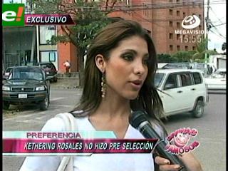 Kettering Rosales la invitada del Miss Santa Cruz 2011