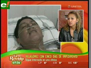 Alcides Villagómez tiene cinco días de impedimento