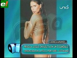 Modelo Priscila Leigue denunciada por fraude