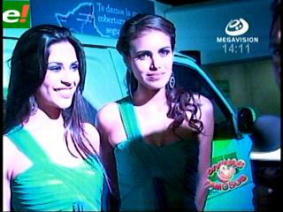 Yéssica Mouton y Daniela Núñez adornan la Exponorte 2011