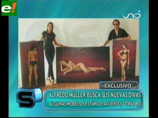 """Alfredo Müller busca a """"Eva en el paraíso"""""""