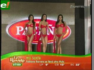 Fabiana y Yessica arrasan en la antesala del Miss Santa Cruz