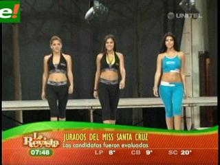 Antesala del Miss Santa Cruz 2011
