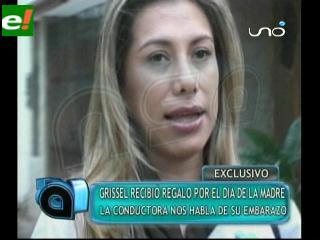 Grisel Quiroga será mamá en junio