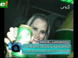 """""""Cruceña"""" la nueva cerveza boliviana"""
