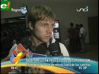 Schiaparelli regresó a Bolivia