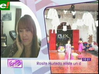 Diseños de Rosita Hurtado se verá en EEUU