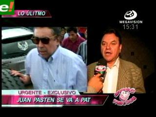 ¿Juan Pastén reemplazaría a Fernando Nürnberg en PAT?