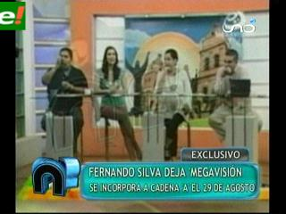 "Fernando Silva deja Megavisión y se va a Cadena ""A"""