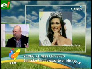 Salvador Madrid analiza a las candidatas del Miss Universo 2011