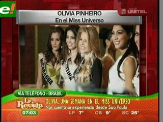 Brasil goza la efervescencia de Miss Universo