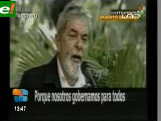 Lula y Evo se reúnen hoy en Santa Cruz