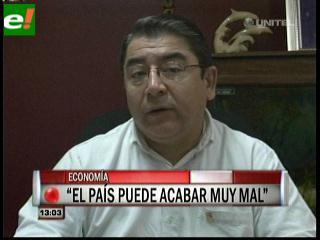 Gary Rodríguez:»El Gobierno no tiene un plan económico»