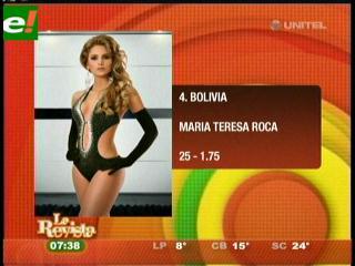 María Teresa Roca favorita en Colombia
