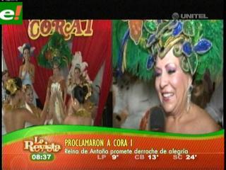 Proclamaron a Cora I, Reina del Carnaval de Antaño 2011
