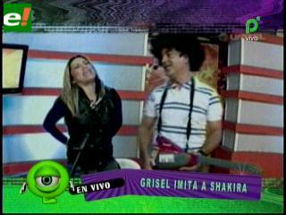 Grisel Quiroga y Pamela Moreno con el estilo Shakira