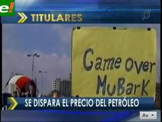 Se dispara el precio del petróleo