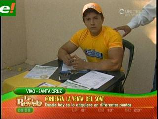 Hoy comienza la venta del Soat 2012