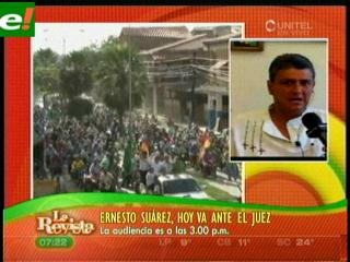 Ernesto Suárez: «Si voy preso por las autonomías, iré con gusto»