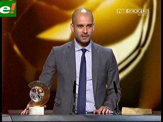 Pep Guardiola elegido el Mejor Entrenador