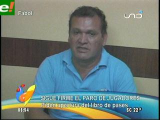 Habrá paro de futbolístas en Bolivia