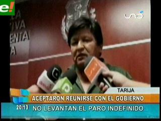 Gobierno convoca a Chuquisaca y Tarija a nuevo diálogo