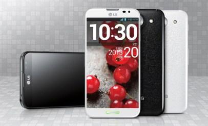 El LG Optimus G Pro estará disponible en todo el mundo.