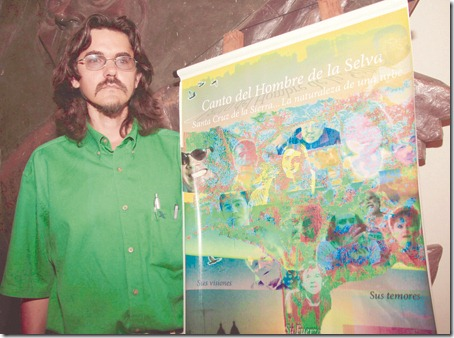 Paúl Gabriel presenta el documental después de unos años.