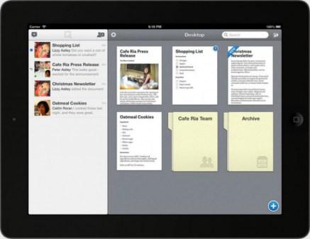 Quip para iOS iPad
