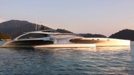 El lujoso bote, acaba de ganar tres categorías en los prestigiosos Premios de Diseño ShowBoats en Mónaco, incluido el de Mejor Arquitectura Naval