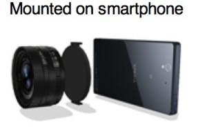 lente para smartphones de Sony