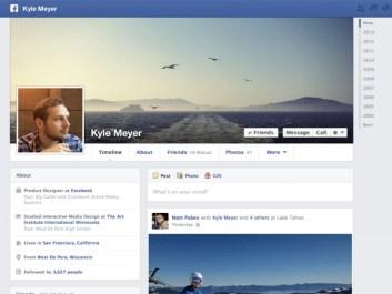 """Facebook prepara una funcionalidad que permite """"viajar"""" al pasado"""