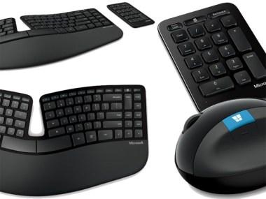 Microsoft reformula su línea de teclados y mouse ergonómicos