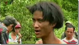 Ho Van Lang pasó cuatro décadas con su padre en el bosque.