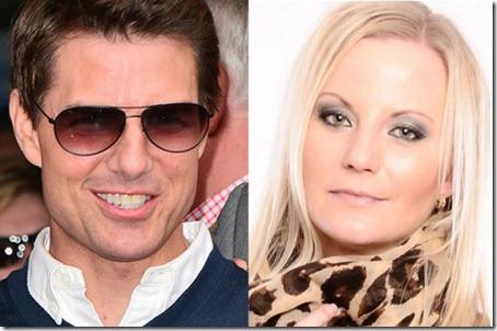 Tom Cruise y Anette Iren Johansen.