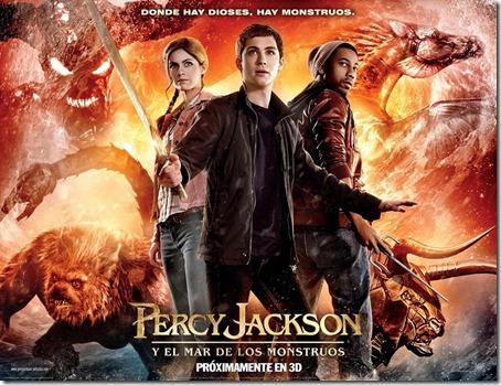 percy jackson y el mar de monstruos