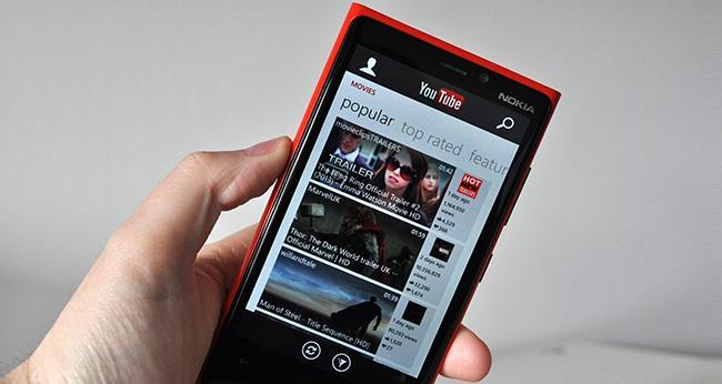 Youtube en los dispositivos Windows Phone