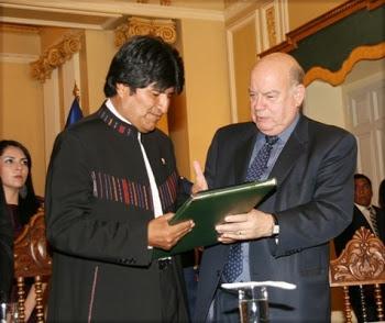 Confirman arribo de Miguel Insulza a Bolivia para este jueves