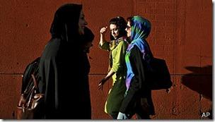 En Irán rige el sistema de tutores familiares para mujeres.