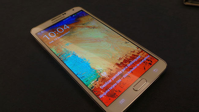 Samsung Galaxy Note 3 Blanco