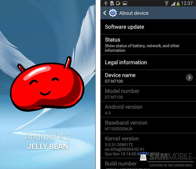 OTA con Android 4.3