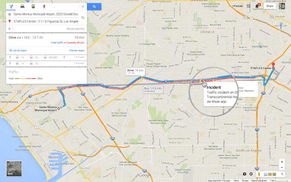 Google Maps incluye tráfico de Waze en su aplicación de ordenador y revive a Pegman