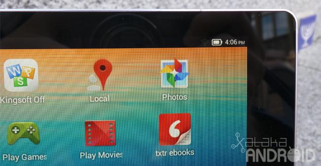 Lenovo Yoga Tablet pantalla