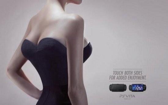 Campaña pechos PS Vita