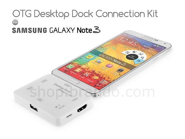 Desktop Dock OTG de Brando conecta tu Galaxy Note 3 con el mundo