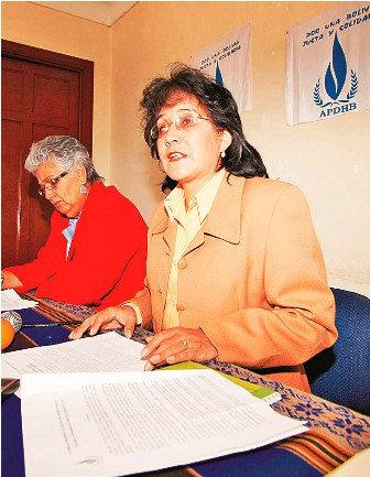 DIRIGENTE. Yolanda Herrera.